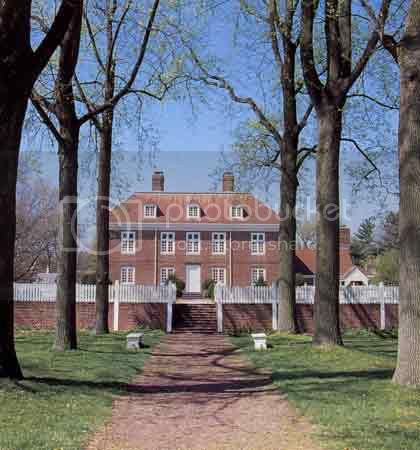 manor home of William and Hannah Penn