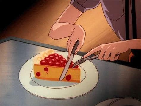 tumblr   heart  anime food food