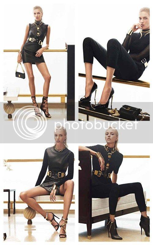 Giuseppe Zanotti Fall 2012 Ad Campaign