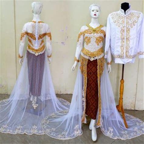 jual kebaya pengantin modern gaun resepsi pernikahan