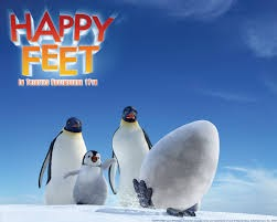 Happy Feet Cake Topper