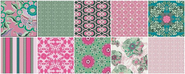 For Friday's Fabric Giveaway!