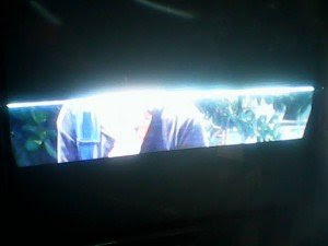 kerusakan gambar  tv LG