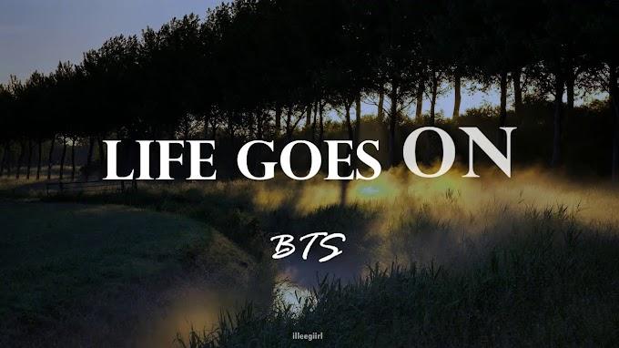 BTS - Life Goes On [English Lyrics]