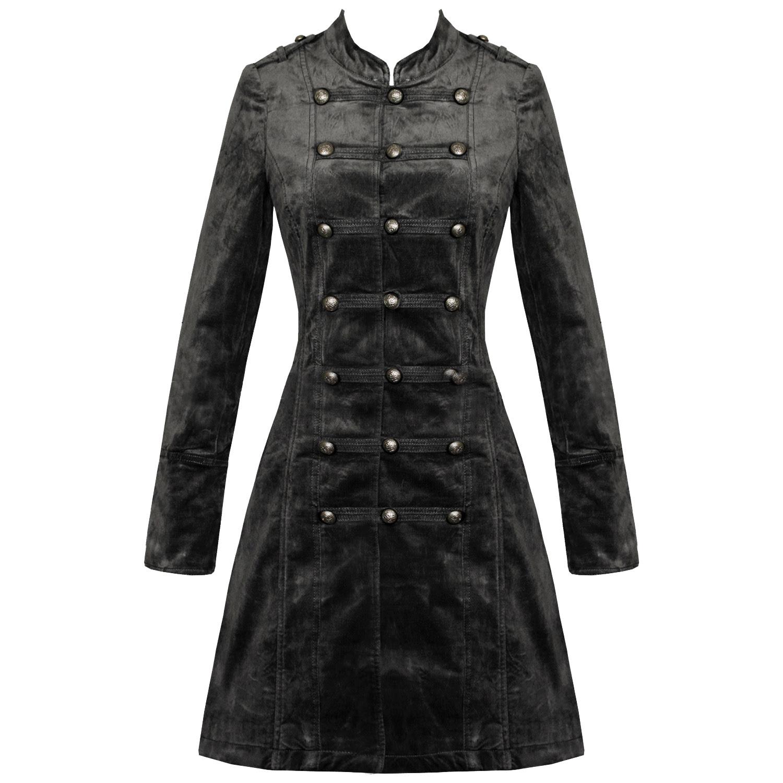Ouille!   22+  Listes de Manteau Noir Femme Long? Fente montante dans le dos.