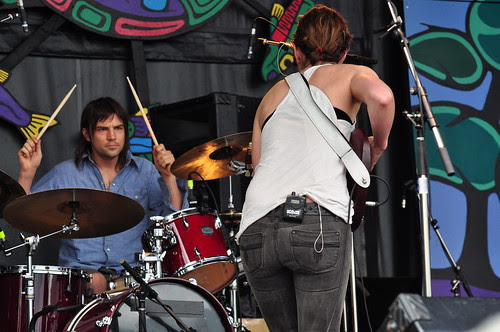 Land of Talk at Ottawa Bluesfest 2009