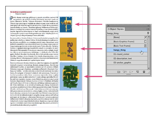 adobe indesign - Apply drop caps to the first word in a ...
