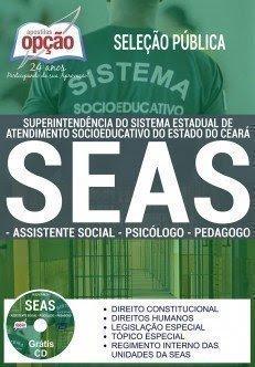 Apostila Sistema Socioeducativo - SEAS ASSISTENTE SOCIAL / PSICÓLOGO / PEDAGOGO.