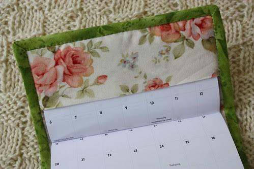 Calendar Cover front inside