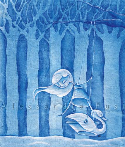 Swan song - bag artwork