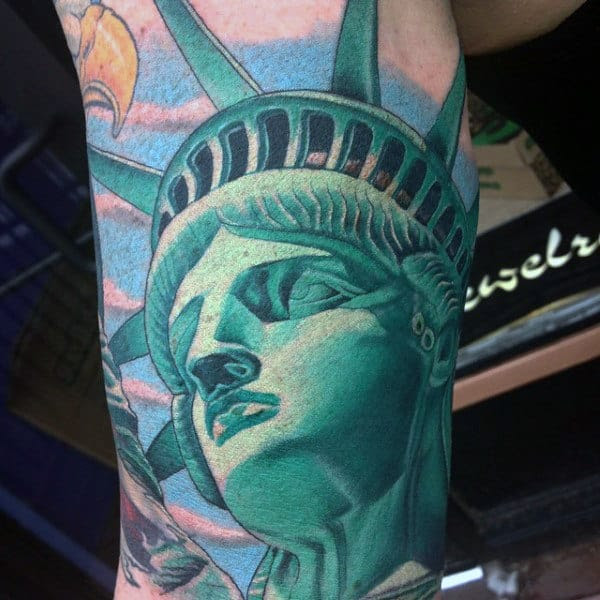 90 Patriotic Tattoos For Men Nationalistic Pride Design Ideas