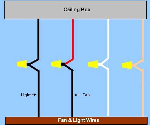 Hampton Bay Fan Capacitor Wiring Diagram on