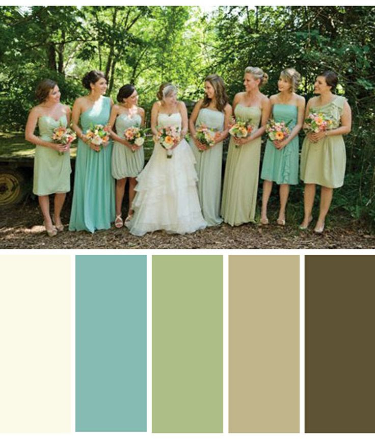Color Palette: Antique Lace, Robin's Egg Blue, Sage Green, Tan, Brown -another living room option?