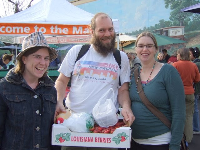Food activism in the Pontchartrain Basin Bioregion