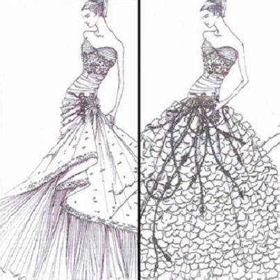 7 Designer Bridal Gown Sketches for Kate Middleton
