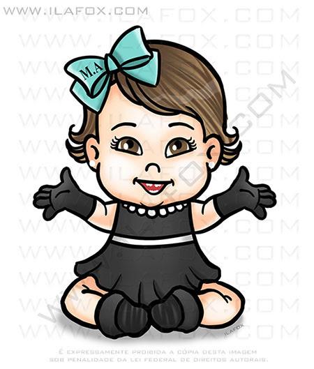 caricatura personalizada, caricatura infantil, caricatura bonequinha de luxo, caricatura original, caricatura bonita, by ila fox