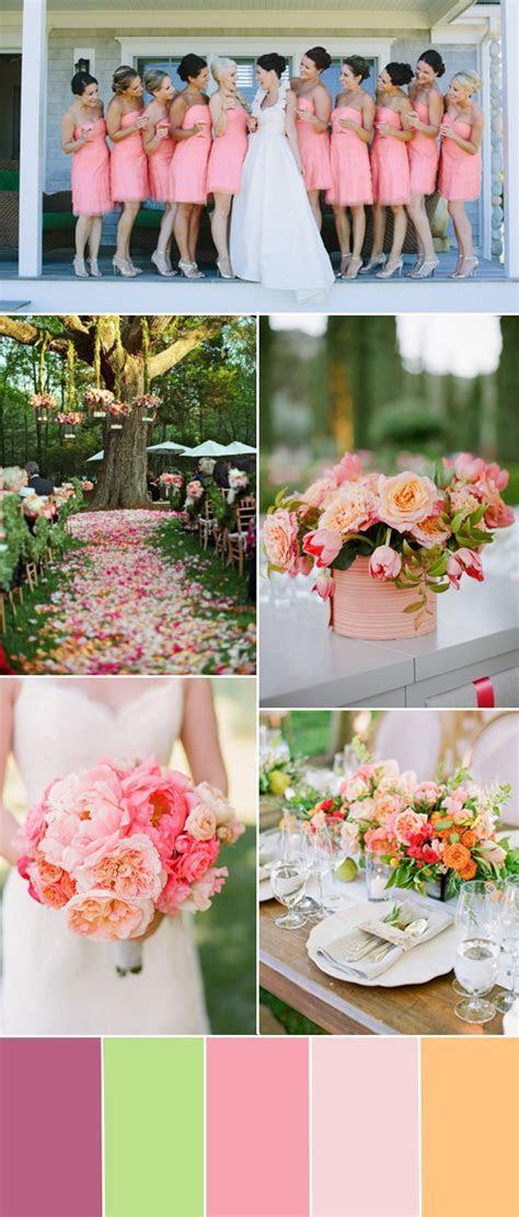 spring summer wedding color ideas 2015   Tulle & Chantilly