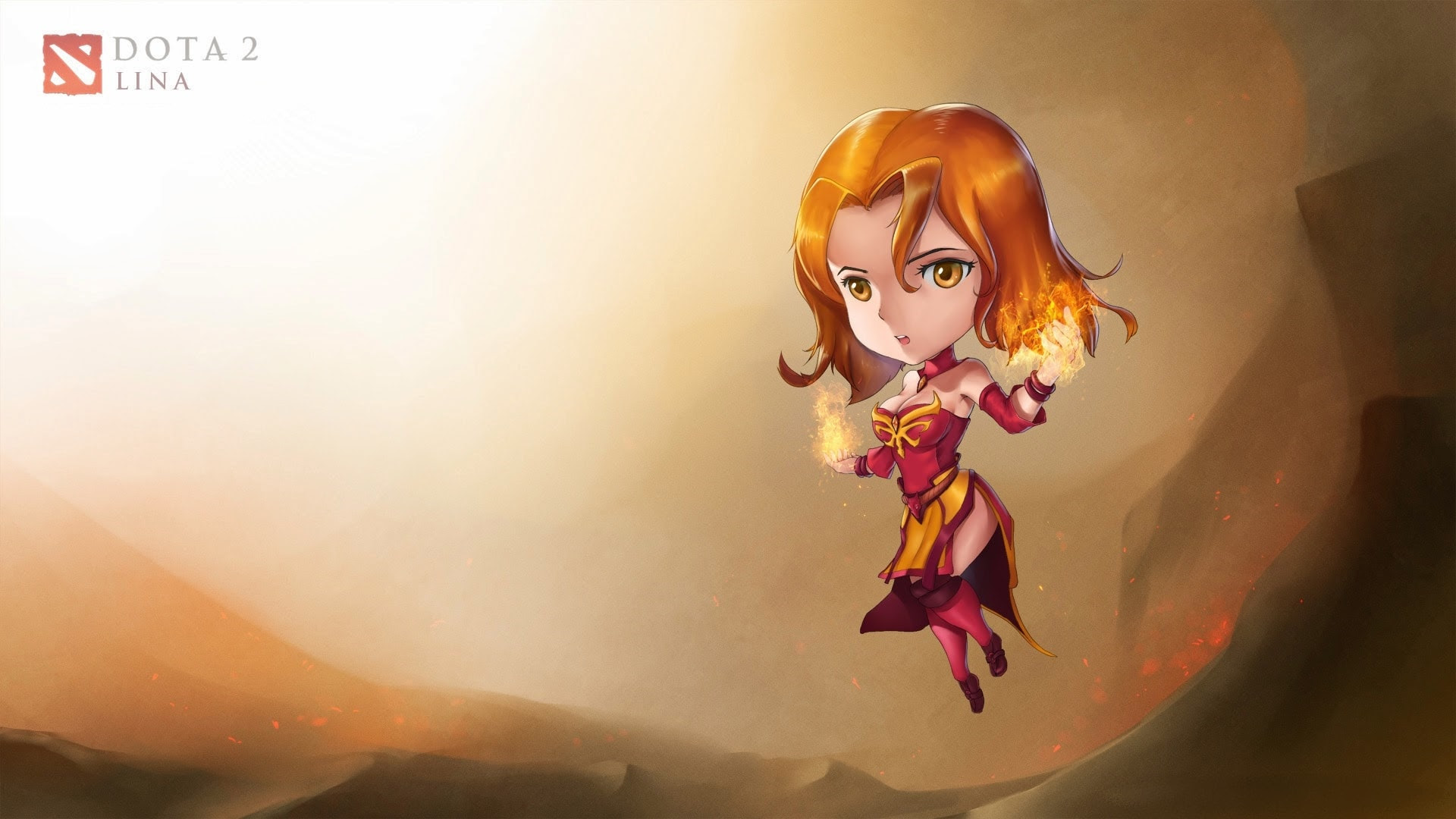Dota2 Lina Hd Wallpapers 7wallpapers Net