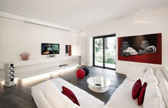 Déco salon design :