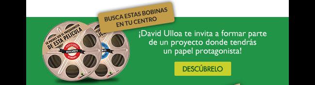 Busca estas bobinas en tu centro. David Ulloa te invita a formar parte de un proyecto donde tendrás un papel protagonista!. Descúbrelo