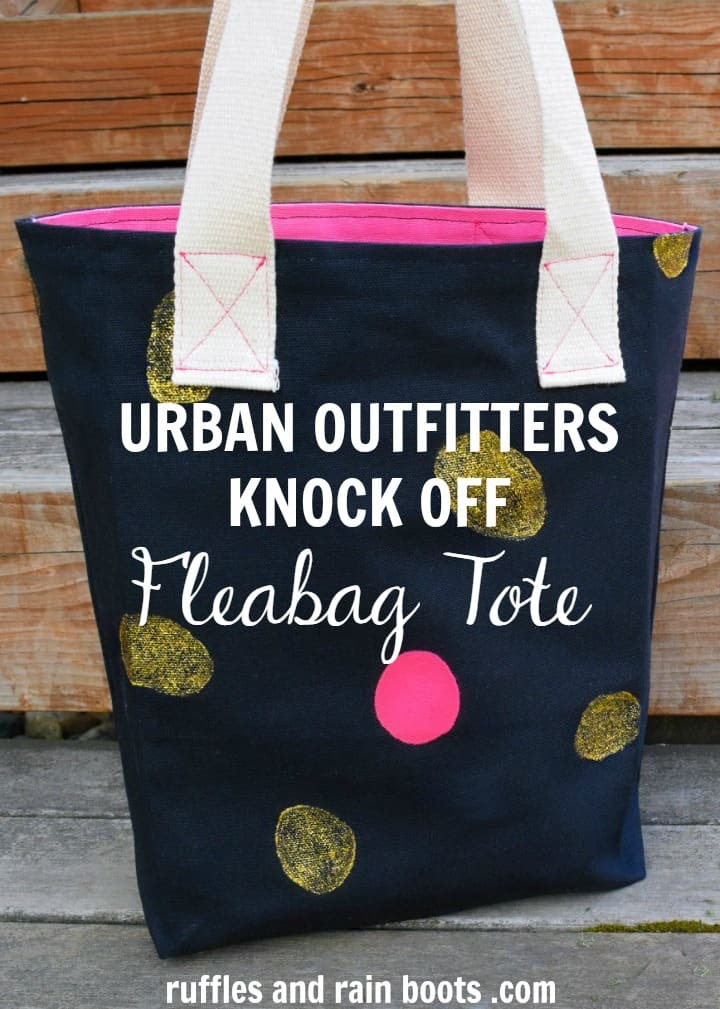 Urban Outfitters Knock Off Tote Bag Tutorial