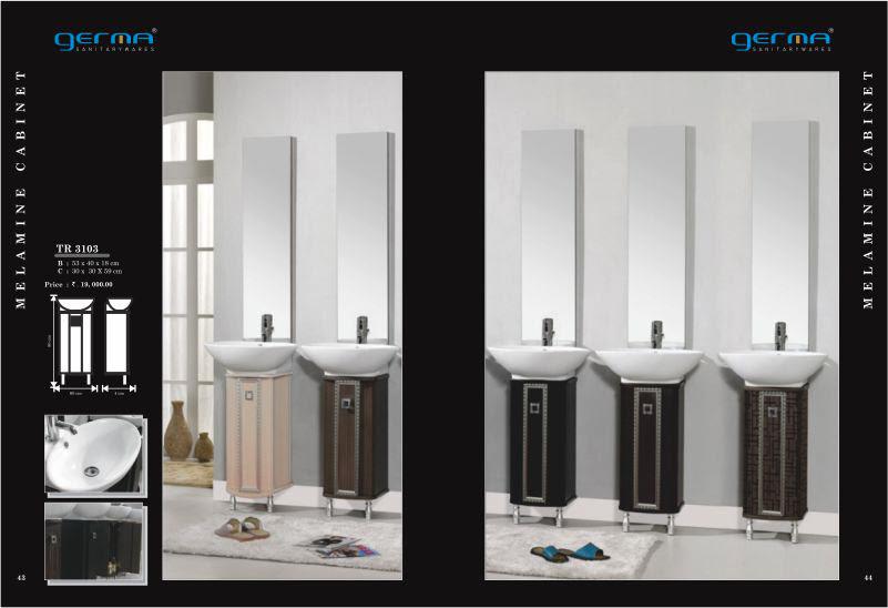 Product Catalogue Designs - GERMA Sanitarywares, Chennai. Page 22