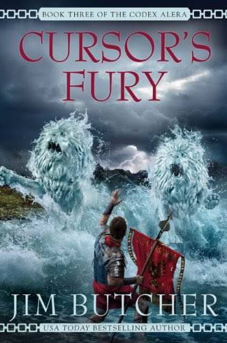 Book Review: Cursor's Fury (Codex Alera, Book 3), By Jim Butcher Cover Art