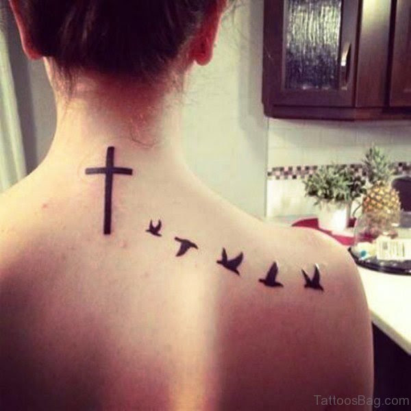 69 Delightful Birds Tattoos On Shoulder
