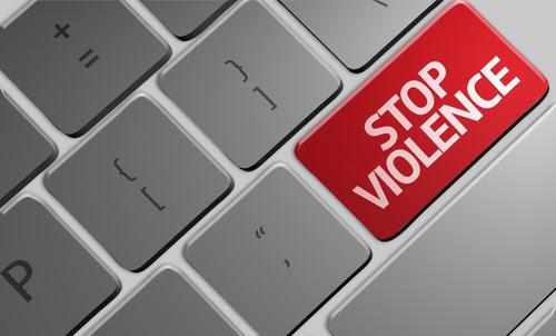 Risultati immagini per no  violence