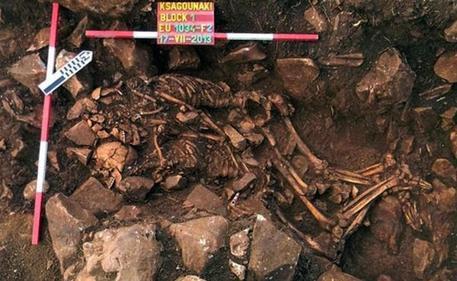 Gli amanti del neolitico © ANSA