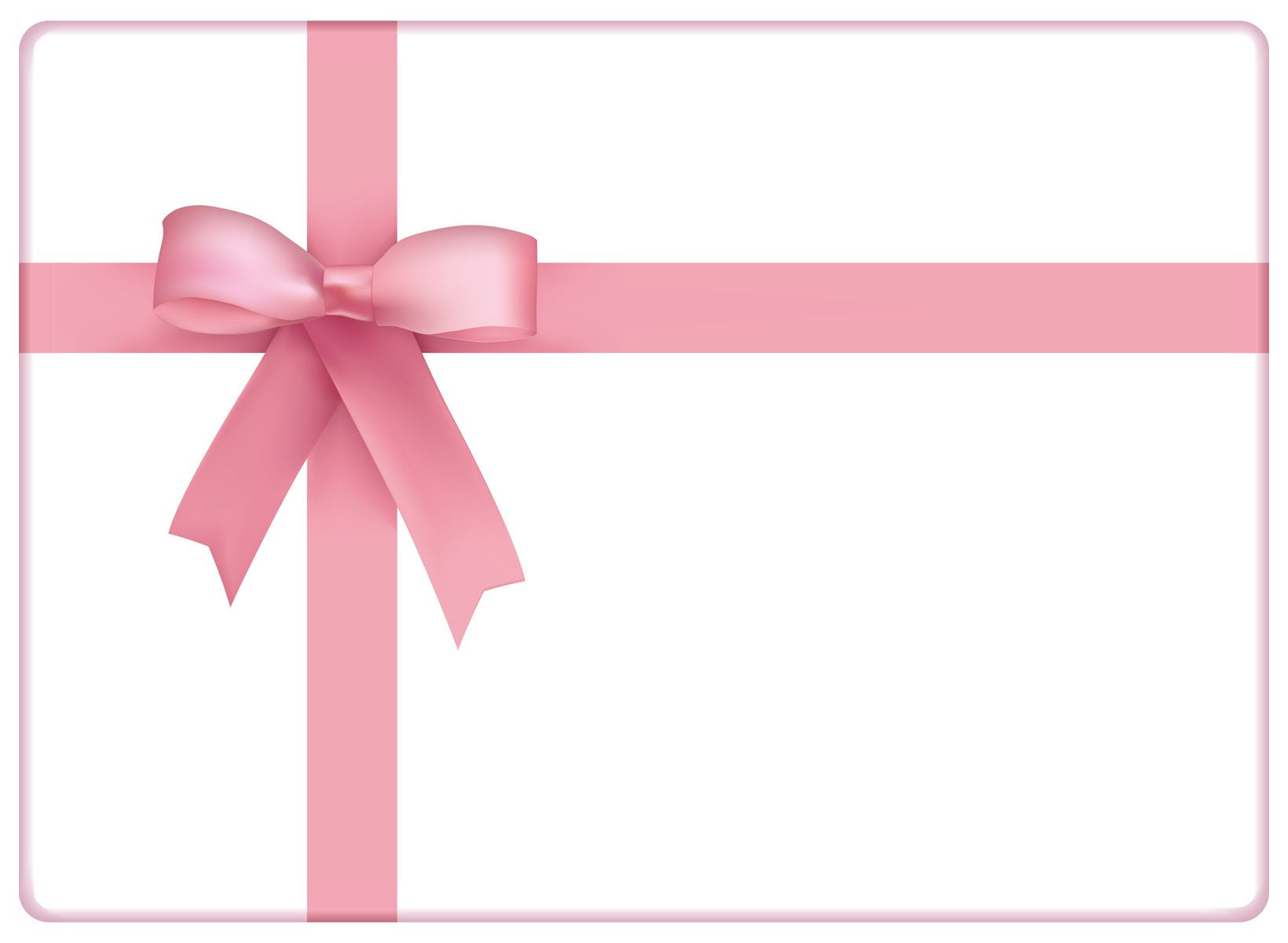 pink bow ight pink gift certificates template designs