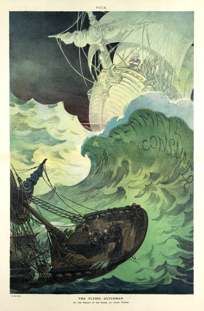 Udo J. Keppler - Illustration in Puck, v. 67, no. 1722 (1910 March 2), centerfold