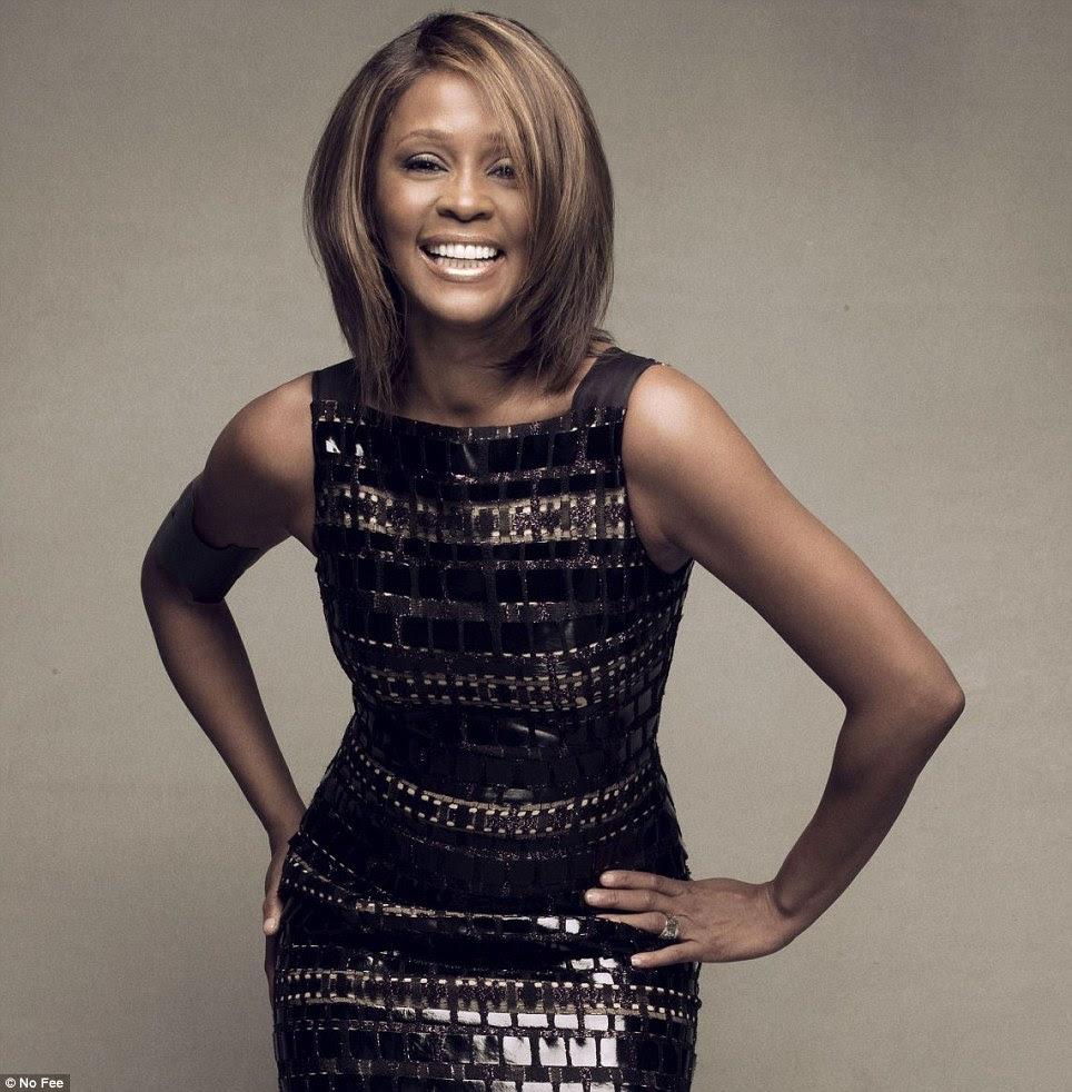 Trágico: lenda da música Whitney Houston morreu hoje com a idade de 48 anos de idade