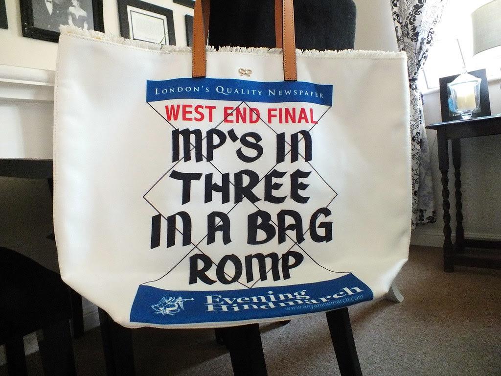 Anya Hindmarch MPs Tote Bag