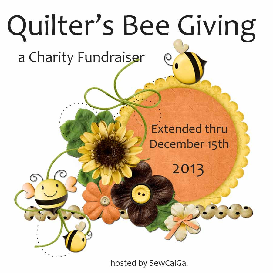 quilter's bee giving generic event button