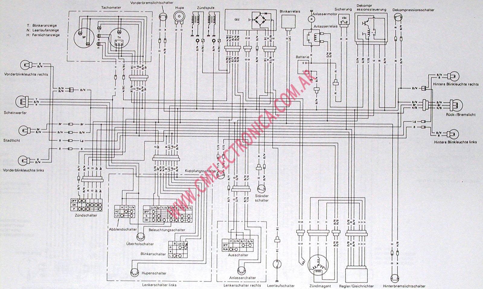 Ts250 Wiring Diagram - Complete Wiring Schemas