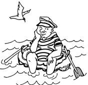 Dibujo De Olas En El Océano Para Colorear Dibujos Para Colorear