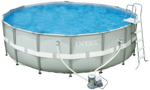 Pools for sale intex 54957eg 18 foot by 52 inch ultra frame pool set promo offer Square swimming pools for sale