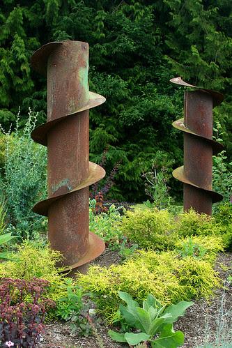 industrial sculptures