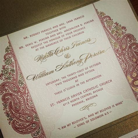 Wedding Invitation: Fascinating Indian Wedding Invitations
