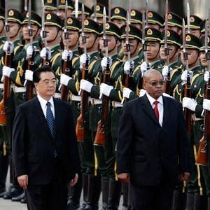 South African President Jacob Zuma while in the People's Republic of China during late August 2010. Zuma wants to enhance the economic relationship between the two countries where the ruling parties have had close fraternal ties for decades. by Pan-African News Wire File Photos
