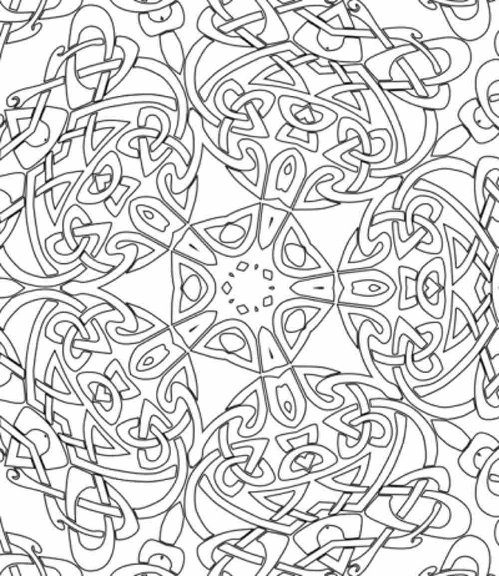 4600 Colouring Pages For Adults A4 Images & Pictures In HD