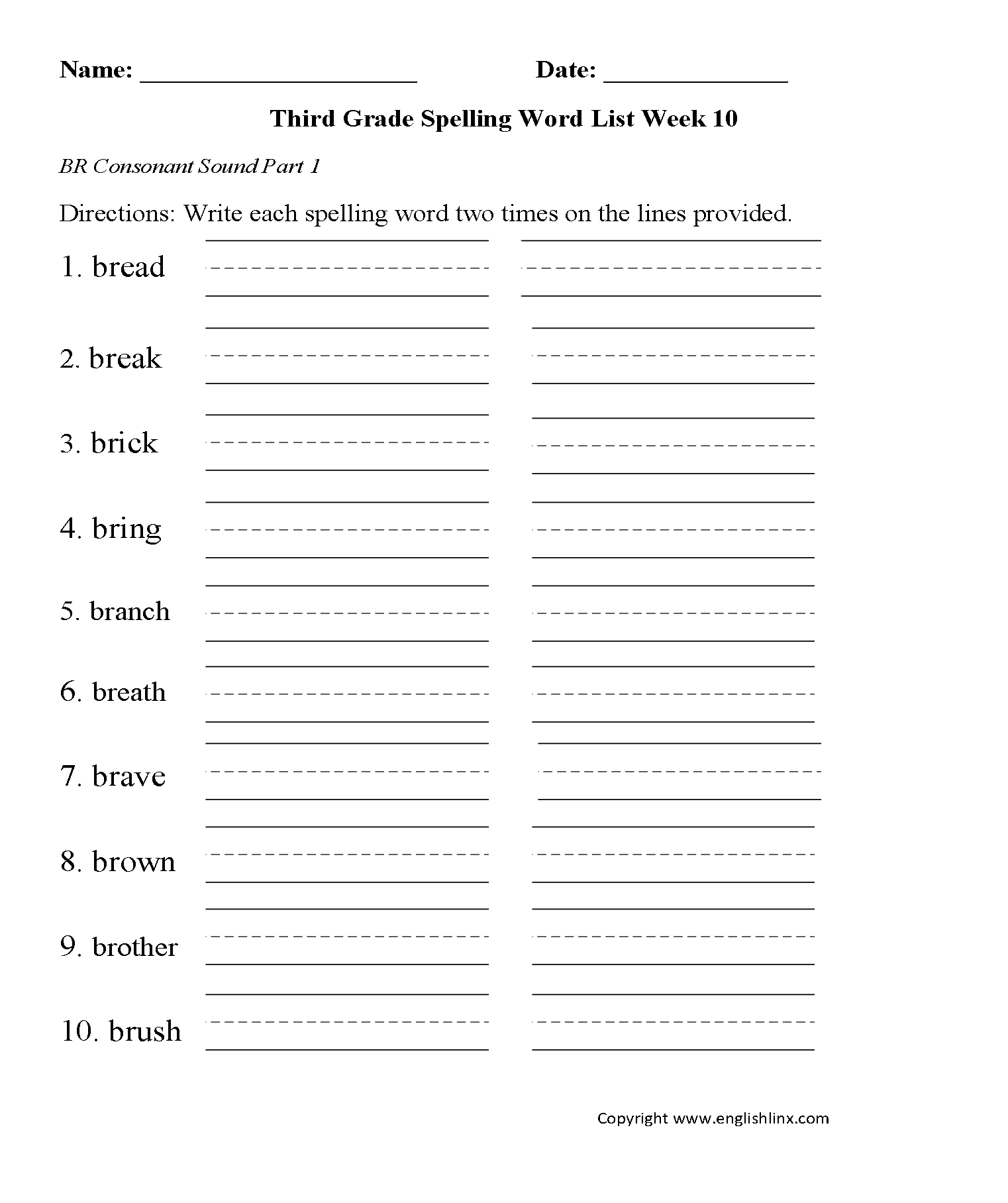 English Worksheets Content By Subject Worksheets
