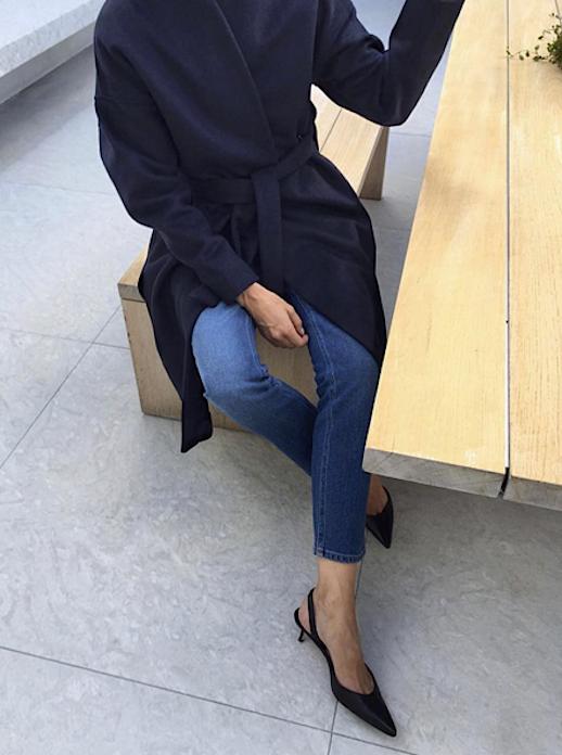 Le Fashion Blog Elin Kling Wrap Coat 8 Coats For Fall Via Fashiion Gone Rouge