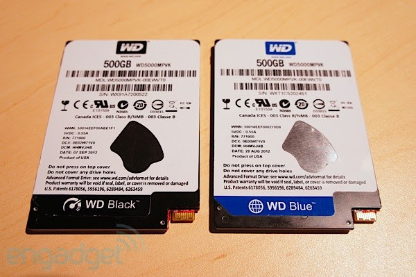 Western Digital brings wafer thin 5mm hard drives to IDF, we go hands-on video