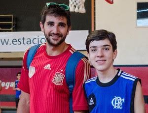 ricky rubio jogadores da nba no flamengo (Foto: Alex Braga)