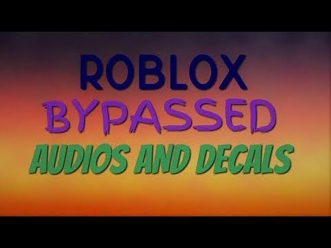 Roblox Bypassed Decals 2019 February Buxgg Free Roblox - roblox bypassed decals id youtube