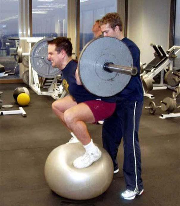 Απερίγραπτες στιγμές στο γυμναστήριο (9)