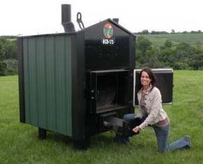 Ham Wood Burning Stove In Shed Must See