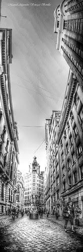 Santiago de Chile. Calle Nueva york by Alejandro Bonilla